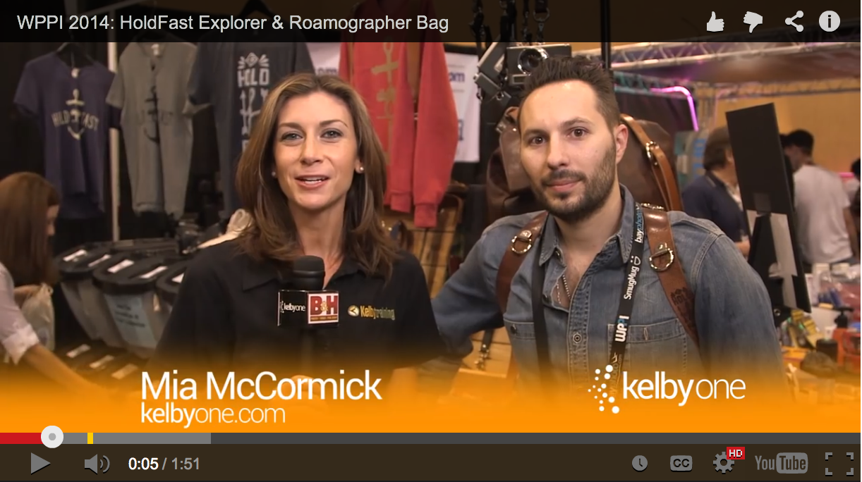 Image for B&H/Kelby Media Group Interviewed me at WPPI