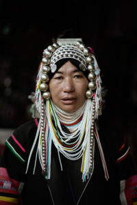 Women of the Akha tribe. © Envela Castel, all rights reserved